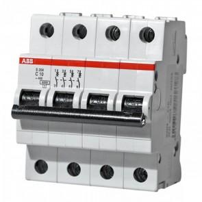 Автоматичен прекъсвач ABB S204-C10 / 10A, 6kA