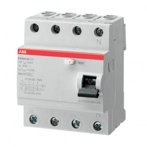 Дефектнотокова защита ABB FH204 A-63/0.03 / 63A