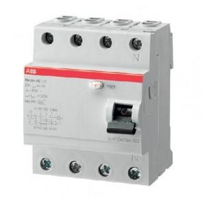 Дефектнотокова защита ABB FH204 AC-25/0.03 / 25A