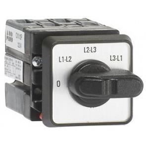 Пакетен прекъсвач ABB ОMV3PB 0-L1L2-L2L3-L3L1