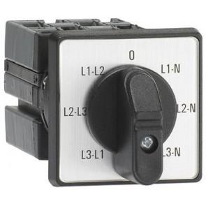 Пакетен прекъсвач ABB ОNV30PB 25A L3L1-L2L3-L1L2-0-L1N-L2N-L3N