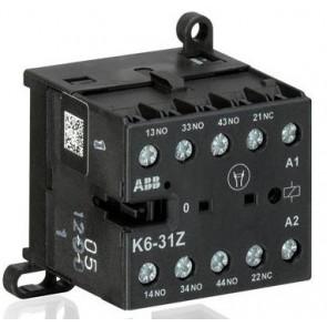 Контакторно реле ABB K6-31Z 220-240V АС