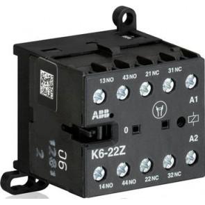 Контакторно реле ABB K6-22Z 220-240V АС