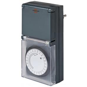 Механичен таймер Brennenstuhl MZ20 24h - 24-часов програмируем таймер, IP 44