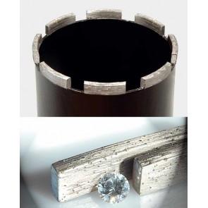 Боркорона за бетон и армиран бетон с диамантени сегменти ф92мм REMS UDKB