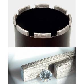 Боркорона за бетон и армиран бетон с диамантени сегменти ф112мм REMS UDKB