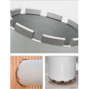 Боркорона за бетон и армиран бетон с диамантени сегменти ф162мм REMS UDKB LS