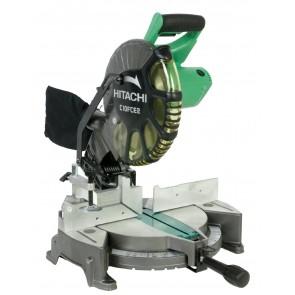 Настолен циркуляр Hikoki - Hitachi C10FCE2 - с герунг 1520 W, 5000 об., диск ф 255х30 мм