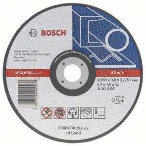 Диск за рязане на метал ф180 х 3 мм Bosch