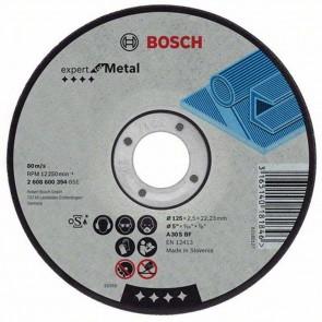 Диск за рязане на метал ф125 х 2,5 мм Bosch
