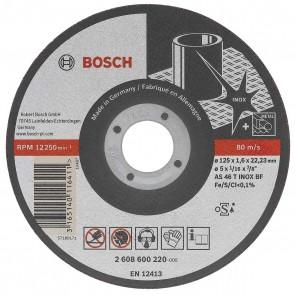 Диск за рязане на Inox ф115 х 1 мм Bosch Rapido Longlife