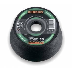 Абразивен диск Rhodius SIC 11М / ф110х55х22.2мм, 1C16P