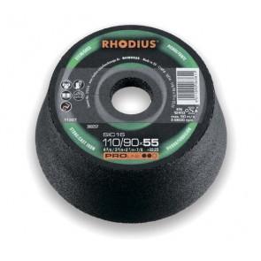 Абразивен диск Rhodius SIC 11М / ф110х55х22.2мм, 1C24P