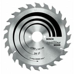 Циркулярен диск Bosch за дърво HM ф150х20х16/2.4мм, z24