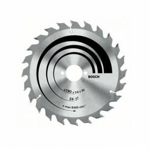 Циркулярен диск Bosch за дърво HM ф160х20/16х2.6мм, z48