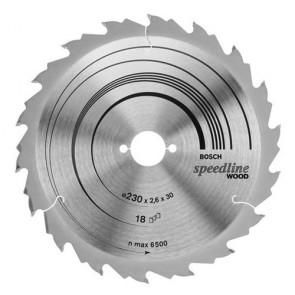 Циркулярен диск Bosch за дърво HM ф160х20х2.4мм, z12
