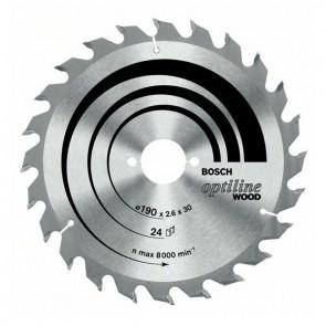Циркулярен диск Bosch за дърво HM ф140х20х2.4мм, z12