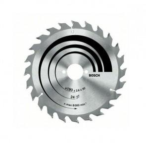 Циркулярен диск Bosch за дърво HM ф190х30х2.6мм, z60