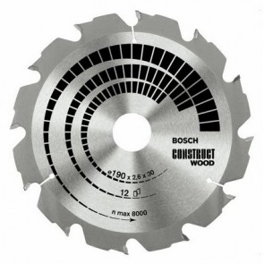 Циркулярен диск Bosch за дърво HM ф150х20х16/2.4мм, z12