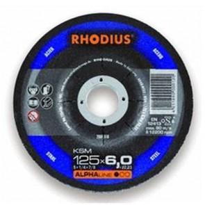 Карбофлексов диск за шлайфане на метал Rhodius KSMRS / ф115х6х22.23мм