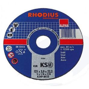 Карбофлексов диск за рязане на метал Rhodius KSMFT / ф180х3х22.23мм