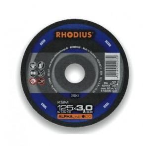 Карбофлексов диск за рязане на метал Rhodius KSMFT / ф115х3х22.23мм