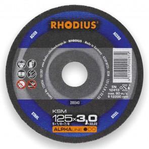 Карбофлексов диск за рязане на метал Rhodius KSMFT / ф125х3х22.23мм