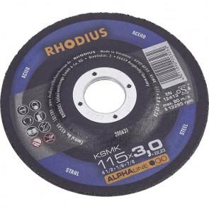 Карбофлексов диск за рязане на метал Rhodius KSMFT / ф230х3х22.23мм