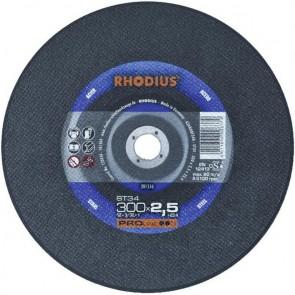 Карбофлексов диск за рязане на метал Rhodius ST34 / ф350х3х25.40мм