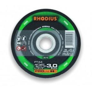 Карбофлексов диск за рязане на неметал Rhodius FT44 / ф125х3х22.23мм