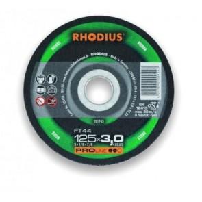 Карбофлексов диск за рязане на неметал Rhodius FT44 / ф115х3х22.23мм