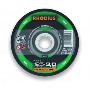 Карбофлексов диск за рязане на неметал Rhodius FT44 / ф180х3х22.23мм