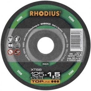 Карбофлексов диск за рязане на неметал Rhodius XT66 / ф125х1.5х22.23мм