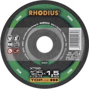 Карбофлексов диск за рязане на неметал Rhodius XT66 / ф115х1.5х22.23мм