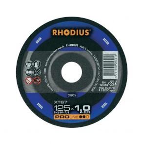 Карбофлексов диск за рязане на метал Rhodius XT67 / ф115х1х22.23мм