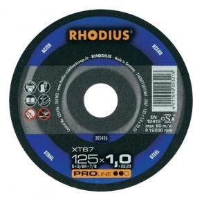 Карбофлексов диск за рязане на метал Rhodius XT67 / ф125х1х 22.23мм