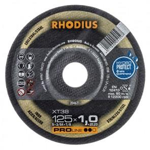 Карбофлексов диск за рязане на неръждавейка Rhodius XT38 / ф230х1.9х22.23мм