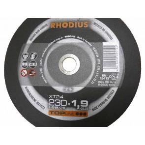 Карбофлексов диск за рязане алуминий Rhodius XT24 / ф230х1.9х22.23мм
