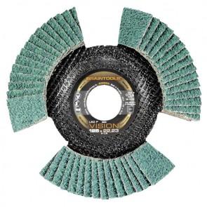 Сегментен диск от шкурка за метал Rhodius LSZ F VISION / ф125х22.23мм, P60