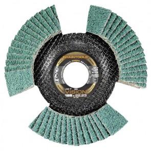 Сегментен диск от шкурка за метал Rhodius LSZ F VISION / ф125х22.23мм, P80