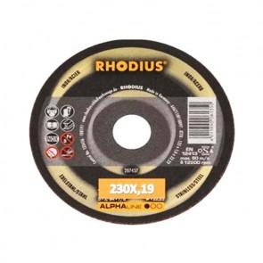 Карбофлексов диск за рязане на неръждавейка Rhodius XTK70 / ф230х1.9х22.23мм