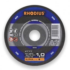 Карбофлексов диск за рязане на метал Rhodius XT77 / ф125х1х22.23мм