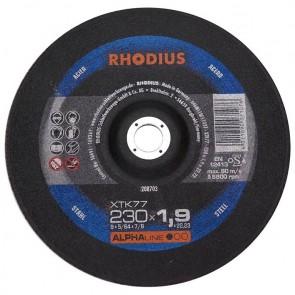 Карбофлексов диск за рязане на метал Rhodius XTK77 / ф230х1.9х22.23мм
