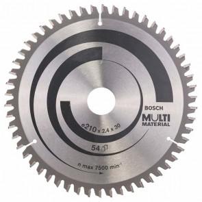 Циркулярен диск Bosch за алуминий HM ф210х30х2.5мм, z80