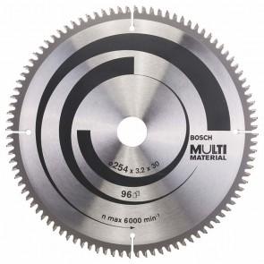 Циркулярен диск Bosch за алуминий HM ф254х30х3.2мм, z80