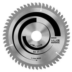 Циркулярен диск Bosch за алуминий HM ф160х20х2.4мм, z42