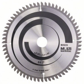 Циркулярен диск Bosch за алуминий HM ф230х30х2.4мм, z64