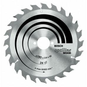Циркулярен диск Bosch за дърво HM ф130х20х2.4мм, z20