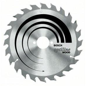 Циркулярен диск Bosch за дърво HM ф140х20х12.7/2.4мм, z20