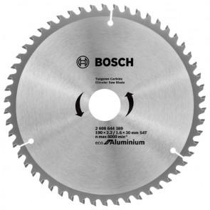 Циркулярен диск Bosch за алуминий HM ф190х30х2.4мм, z54